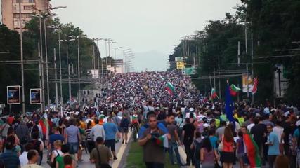 Ден 25 на протести в София- Мвр не може да брои.
