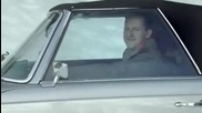 Шумахер и Хаккинен в реклама на Mercedes-benz