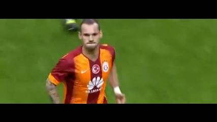 Фамозен Уесли Снайдер реши дербито на Турция Галатасарай 2 : 1 Фенербахче