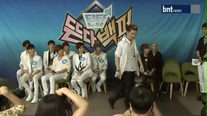 Ricky Changjo Dance (at 100 Popularity Press Conference) (12 06 12)