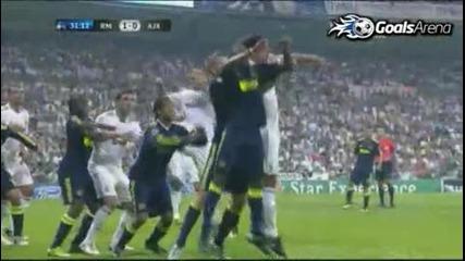 Real Madrid 1 - 0 Ajax 15/09/2010 Uefa Champions League