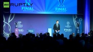 Berlin Welcomes Champions League Trophy