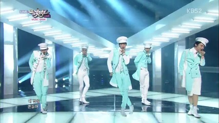 [131011] Shinee - Everybody @ Music Bank Comeback Stage