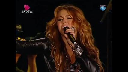 Miley Cyrus - Live@ Rock in Rio Lisboa 2010 [3 7]