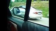 Honda Civic 90hp vs Opel Calibra 115hp