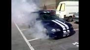 Opel Astra GSi 16v - Burnout
