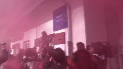 Сблъсъци между полиция и мигранти в Австрия