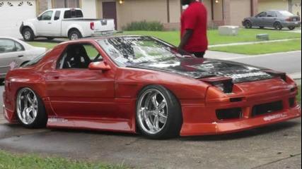 V8 Rx7 В Действие..