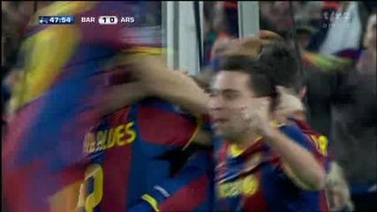 08.03.11 Барселона 1 - 0 Арсенал - Меси (3 - 1)