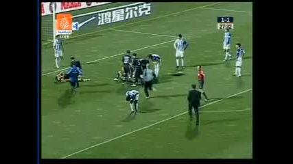 01.03 Рекреативо - Реал Мадрид 2:3 Раул  Гонзалес Гол