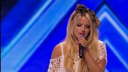 The X Factor Uk 2013 - Crissie Rhodes sings at the Arena -- Arena Auditions Week 4