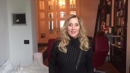 Лара Фабиан - със специално обръщение към българските си фенове (ВИДЕО)