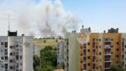"""""""Моята новина"""": Голям пожар до блокове в Плевен"""