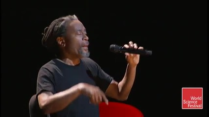 World Science Festival 2009 Bobby Mcferrin Improvises A Cappella Song Two of Two