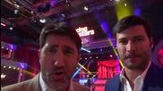 Dancing Stars - Башар Рахал и Мариан Кюрпанов подкрепят Антон и Дори (08.05.2014г.)