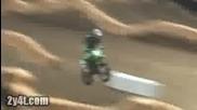 Jonathan Barragan y su Kawasaki Kxf 450