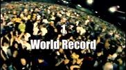 Световен рекорд по целене с водни балони
