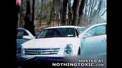 Полицейско Преследване С Лимозина