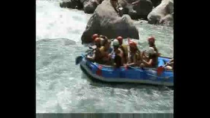 Рафтинг 17.09.2008 г. река Даламан - Турция - 3 част