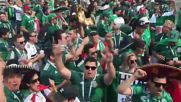 Russia: Mexican fans show their support ahead of match against Germany