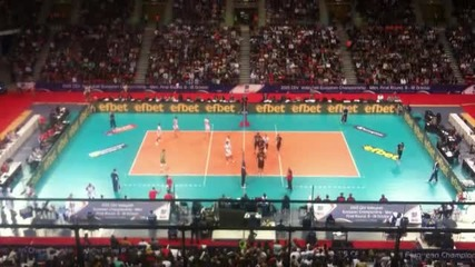 Bulgaria vs Germany / Eurovolley 2015 Sofia / Arena Armeec / first match