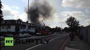 UK: Blaze breaks out at Baitul Futuh Mosque, one of Europe's biggest
