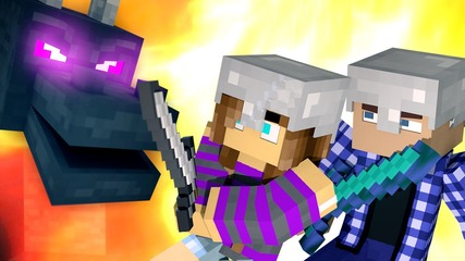 ♫ MINECRAFT SONG 'With You' Animated Music Video