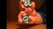 poker Chip Tricks - Tutorial 8 - The Butterfly