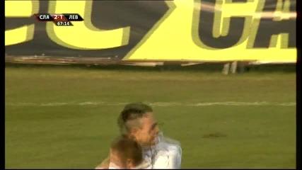 Манзоро ошашави Левски за втори път - 2:1 за Славия