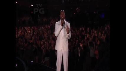 Невероятно ! На живо на финала на Америка търси талант ! Джъстин пее As long as you love me