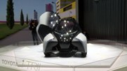 Електричeска кола от бъдещето: Toyota i-TRIL