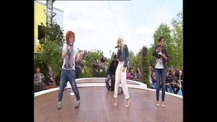 No Angels - Too old (acoustic) @ Zdf Fernsehgarten 2010.05.16 (high Quality)