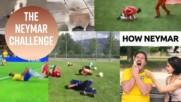 Неймар е прекарал 14 минути в лежане на тревата по време на Световното