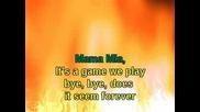 Abba Mama Mia - Karaoke