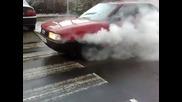 Audi 80 B3 1.8 Ru Burnout
