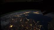 Космонавти заснели удивително видео