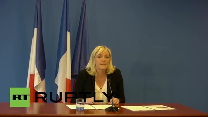 France: Western foreign policy leads to extremism and migrant crisis - Le Pen