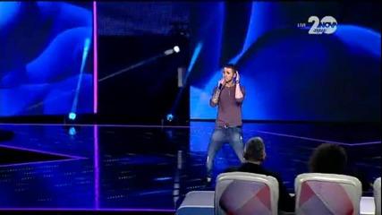 Траян Костов - X Factor Live (27.11.2014)