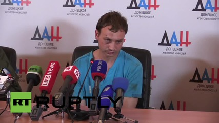 Ukraine: DPR's Basurin calls on Ukrainian soldiers to choose imprisonment over bloodshed