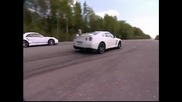 Nissan Gtr 560hp vs. Porsche 911 Carrera 560hp [hq]