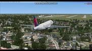 Кацане от максимално ниска височина с Airbus A320 Изпитателен тест