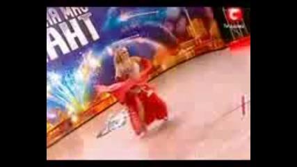 100 килограмова танцьорка и това е талант
