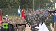 Russia: Chinese tanks, infantry perform at Tank Biathlon World Championship