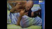 Big Brother 4-Косьо Раздава Целувки На УмбертоСъмнителна Нежност26.10.2008