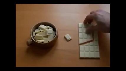 Интересен трик с шоколад!