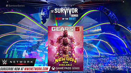 The New Day rock custom Gears of War armor into Survivor Series: Survivor Series 2020 (WWE Network Exclusive)