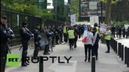 France: Independent workers shut down Saint-Denis in RSI protest