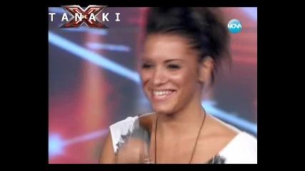 Много красиво момиче със страхотен глас - X - Factor България 13.09.11
