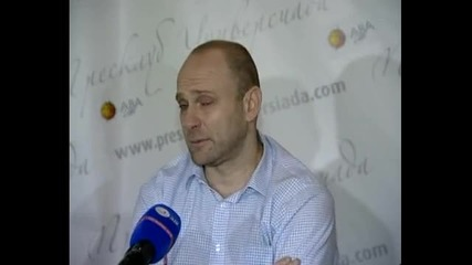 ВИДЕО: Цялата пресконференция на Тити Папазов след мача със Задар от Адриатическата лига