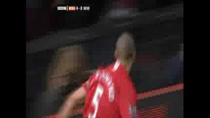 Манчестър Юнайтед - Нюкасъл 4 - 0 (фърдинант)